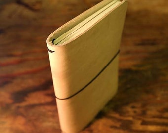 Double Moleskine Cahier Leather Notebook Journal Cover