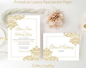 Cheap Wedding Invitation Kits Printed