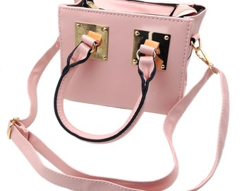 Mini square lady handbag