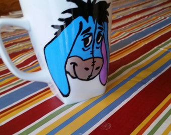 classic hand painted mug