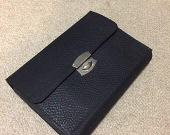 Vintage leather men's travel / dopp kit