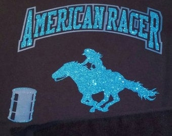 American Racer Barrel Racing T