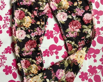 Woman Skinny Black Jeans,Skinny White Trousers,Black Stretchy bottoms, Flower Print Tousers,Skinny Printed trousers/pants