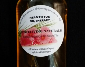 Head To Toe Oil Therapy/ Hot Oil Treatment / All Natural / Moisturizer