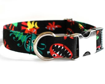 Monsters Collar | Dog Collar | Male Dog Collar | Female Dog Collar | Novelty Dog Collar | Pet Collar | Large Dog Collar | Small Dog Collar