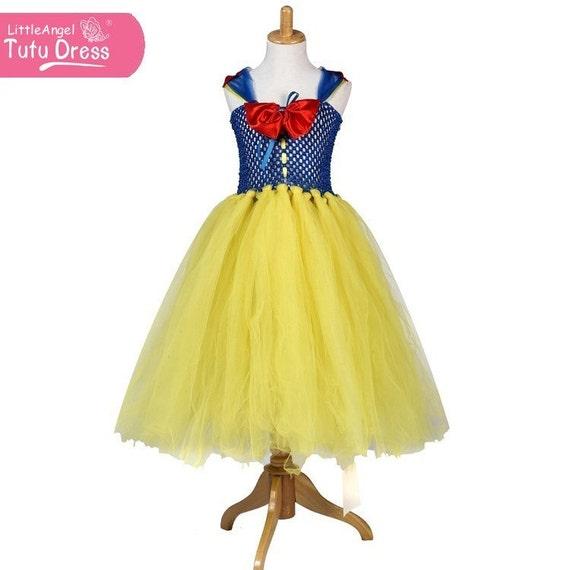 Tutu dress disney snow white great fancy dress costume for girls