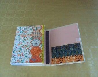 Notepad scrapbooking