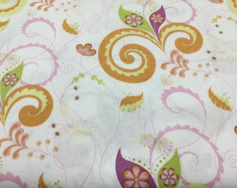 "Spring Promise Floral Print Cotton 44"" Sold By the Yard"