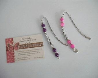 Personalised Handmade Bookmarks