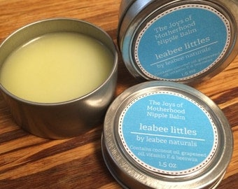LeaBee Littles The Joys of Motherhood Nursing Balm by LeaBee Naturals