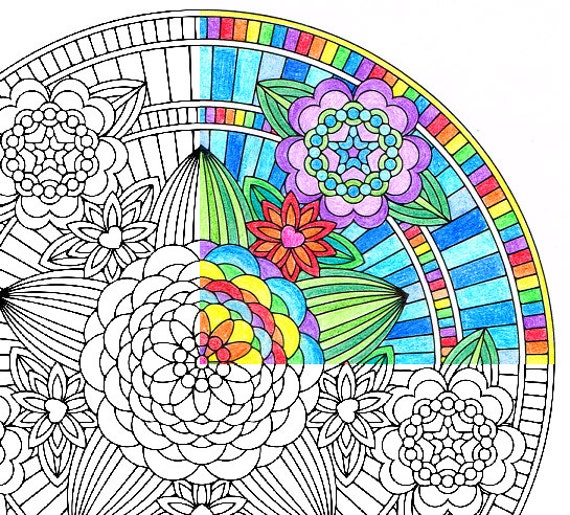 mandala coloring pages as therapy - photo#30