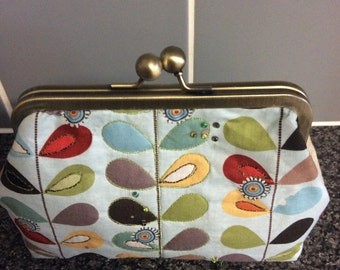 Clutch bag handcrafted in Orla keighley style