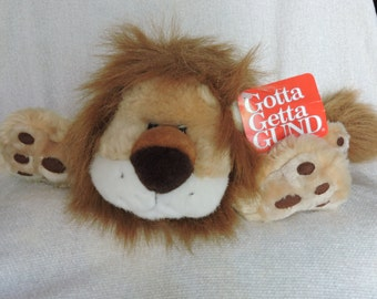 Vintage King Leo - Adorable Lion Stuffed Animal by Gund