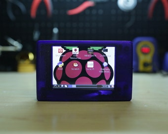 3D printed Touch Pi: Portable Raspberry Pi by adafruit CASE ONLY
