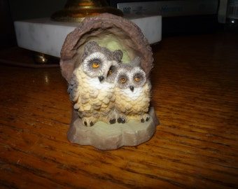Parent/Baby Owl Ornament