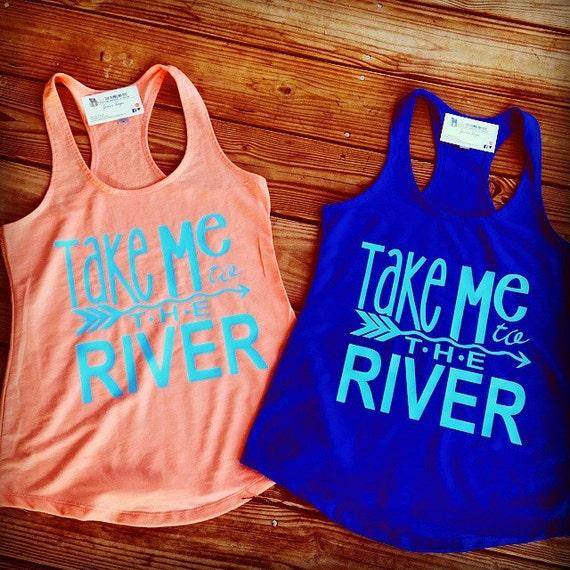 Items Similar To Take Me To The River Tank River Tank