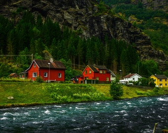 Landscape photography, Beautiful Norway landscape, Photo prints, Wall Art, Home Decor