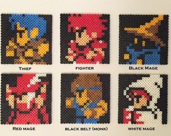 Final Fantasy Coasters & optional NES Controller Holder