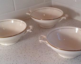 Vintage Edwin Knowles Consumme Bowls