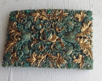 Baroque Style Belt Buckle