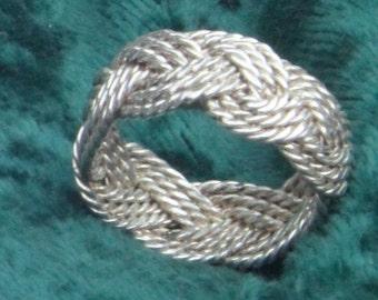 Sliver Turks Head Ring
