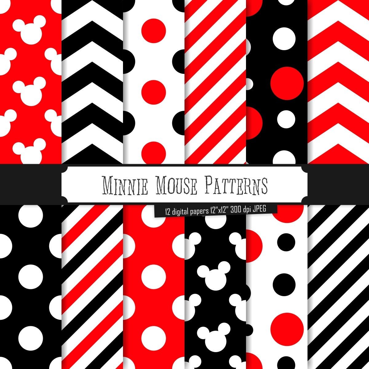 free minnie mouse patterns joy studio design gallery