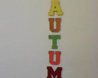Autumn Seasonal Wooden Wall Hanging