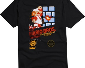 Super Mario Brothers Video Game Nintendo Shirt