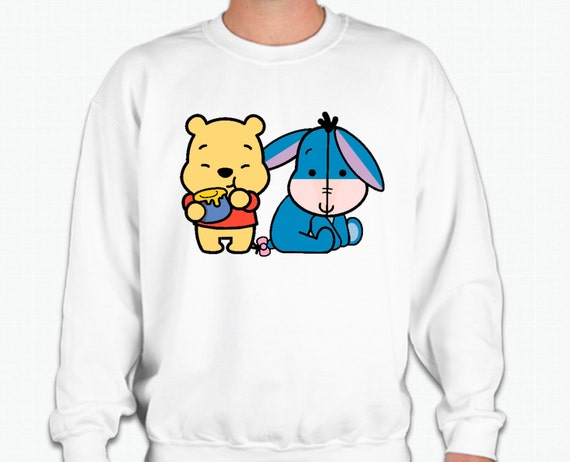 Be Unique. Shop winnie the pooh crewneck sweatshirts created by independent artists from around the globe. We print the highest quality winnie the pooh crewneck sweatshirts on the internet.