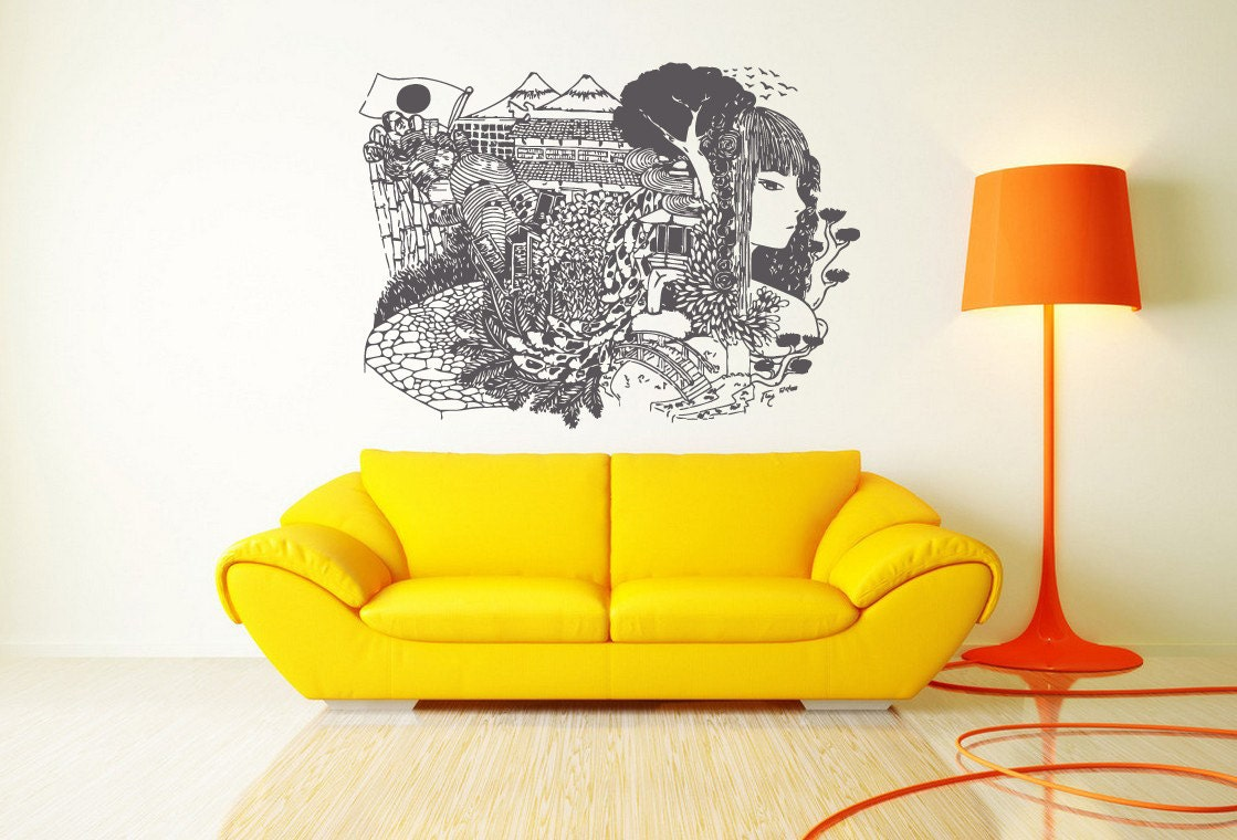 16+ Japanese Wall Art Designs, Ideas | Design Trends - Premium PSD ...