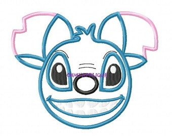 Character Stitch Embroidery Applique Design