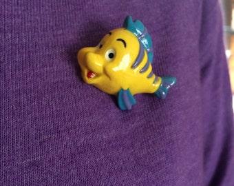 Flounder Mini-Brooch or Ring!!