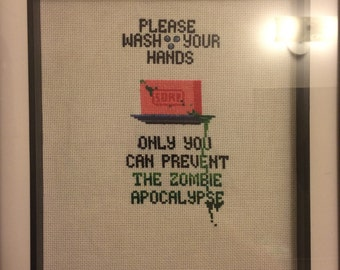 Geeky cross stitch