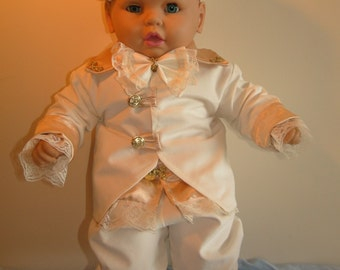 "Baby Boy Outfit Set ""Augustin""-Christening,Baptism,Events"