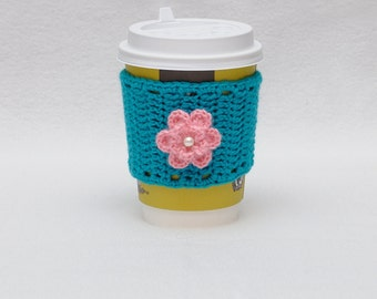 Coffee cozy cup sleeve gift Valentine's Day gifts coffee mug cozy