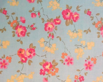 Teal Olivia Fabric by Penny Rose Fabrics (Pattern: C4242)