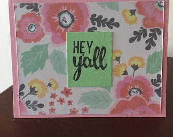 4 pack of Greeting Cards