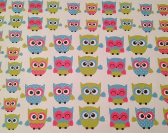 Owl stickers -  for your EC, PP, planner