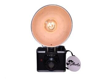 Vintage Camera Lamp