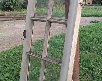 1936 Wood Window Sash