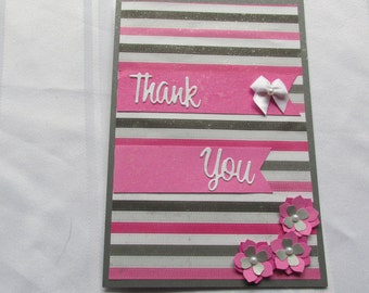 5 X 7 Thank you card, when a small card won't do