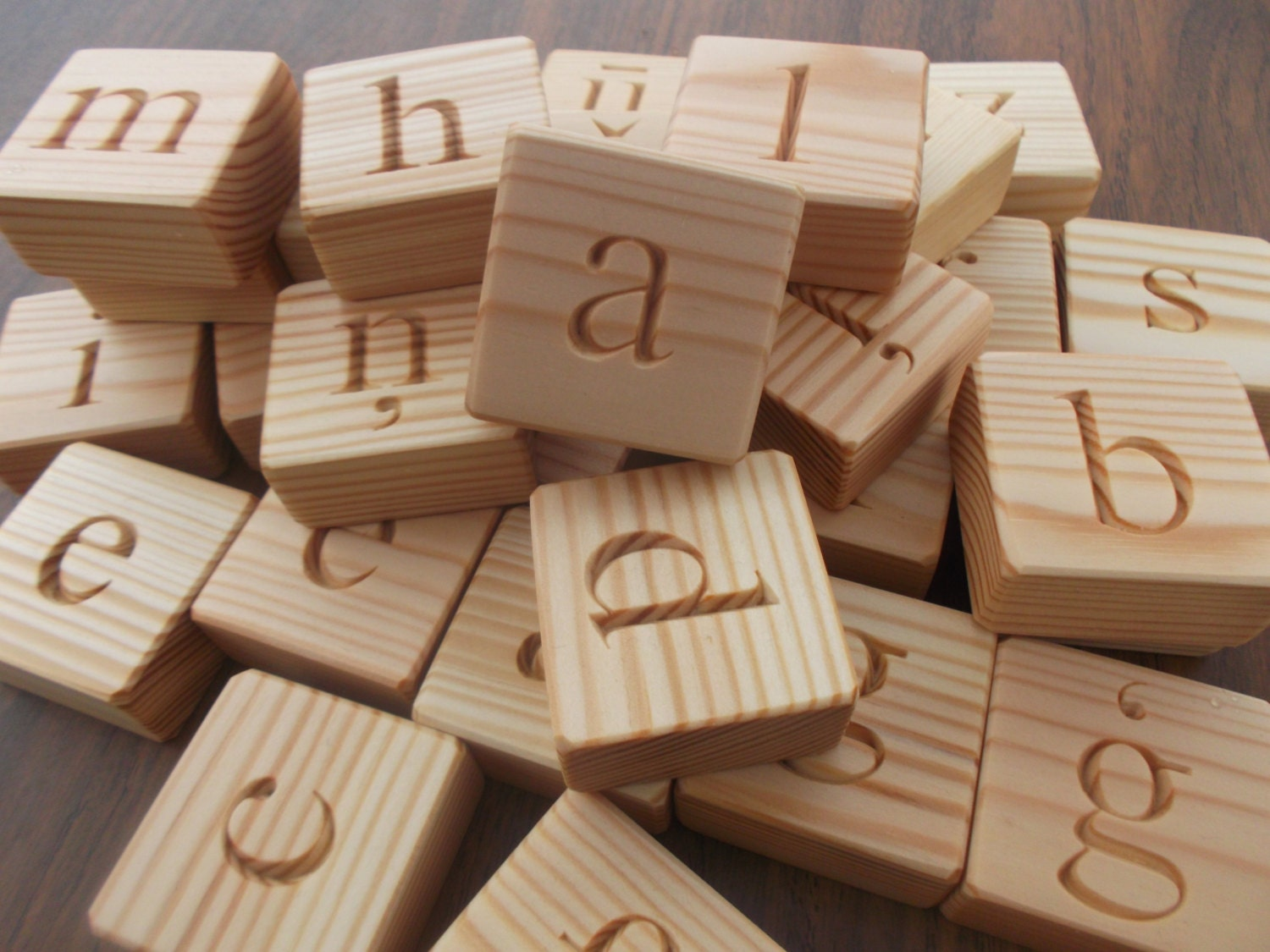 Latvian alphabet wooden alphabet blocks lowercase letters for Greek wooden block letters