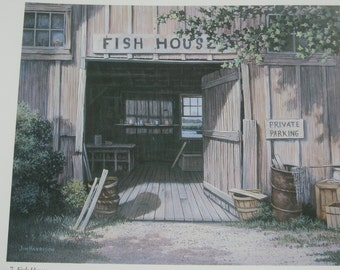 The Fish House by Jim Harrison from the book Pathways to a Southern Coast