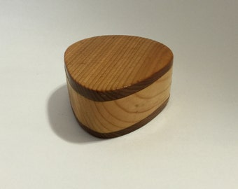 Made to order- Wooden Guitar Pick Box - Pine and Cedar