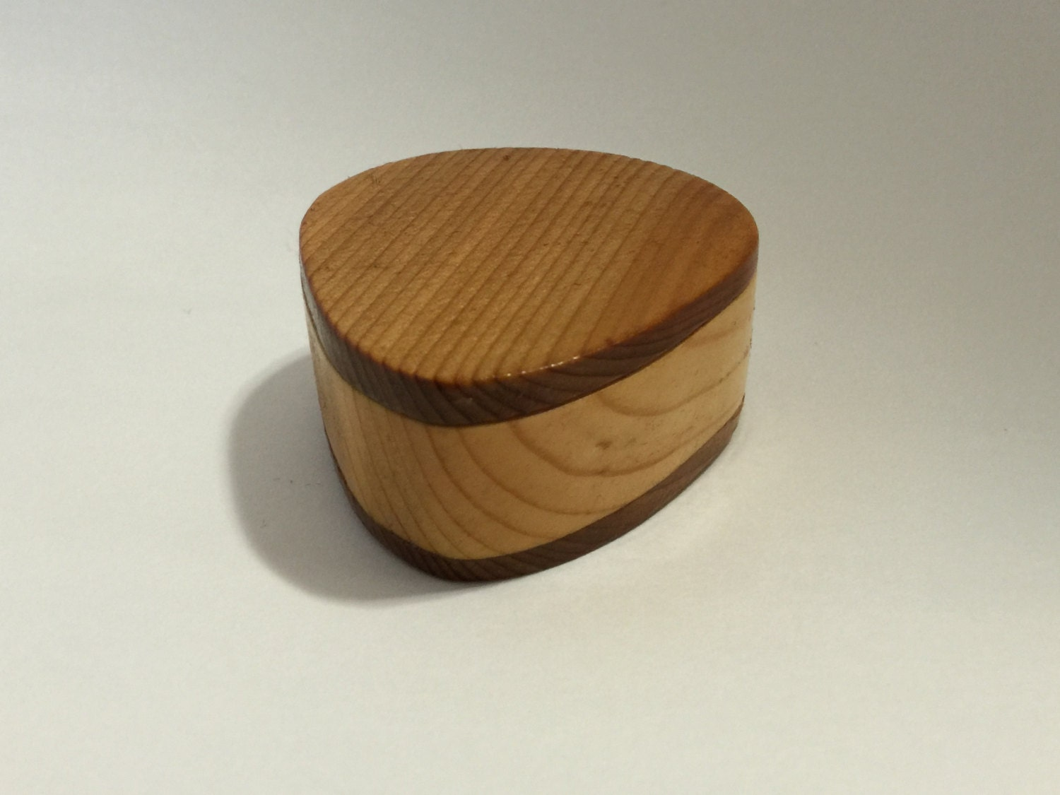 made to order wooden guitar pick box pine and cedar. Black Bedroom Furniture Sets. Home Design Ideas