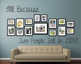 Love and Family Wall Vinyl