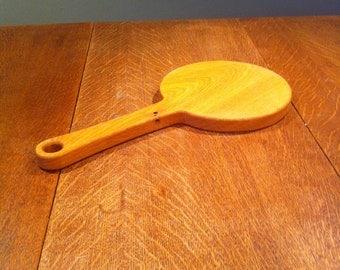 Handmade solid oak serving board