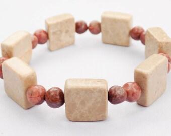 Handmade Marble Bracelet. Kostli Bracelet