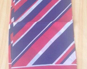 Man scarf 100% silk striped