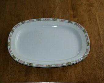Carrollton China CLT29 13 inch rectangular serving platter
